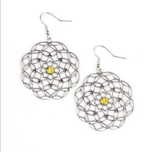 Botanical Bash Yellow earrings